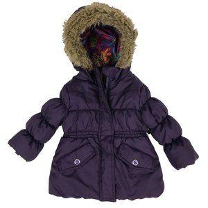 Rothschild Girls Purple Winter Coat Sz 12 Months